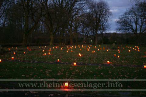 Ehrenfriedhof Bad Bodendorf Morgengrauen