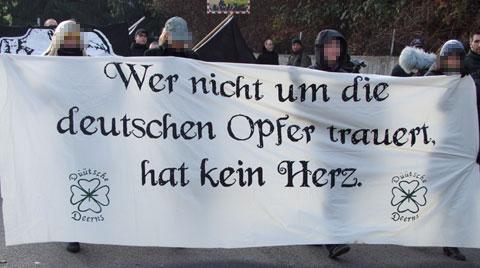 Trauermarsch Remagen 19.11.11