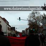 Trauermarsch durch Rheingönheim